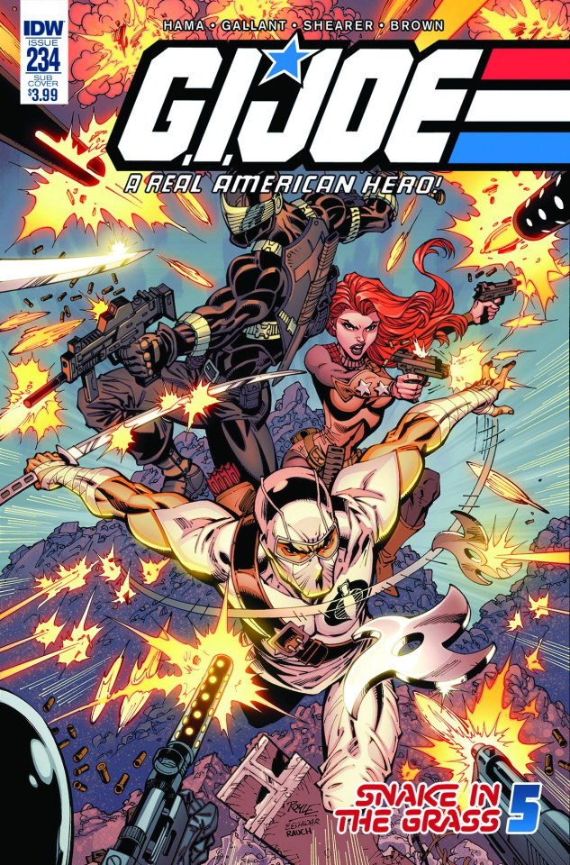 G.I. Joe: A Real American Hero #234 (Subscription Cover)