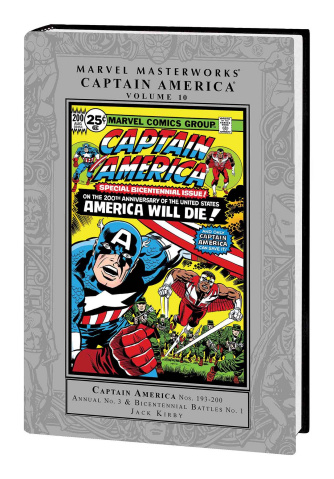 Captain America Vol. 10 (Marvel Masterworks)