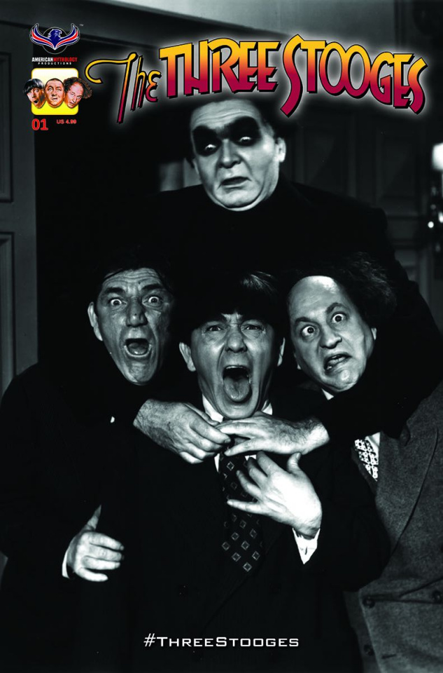 The Three Stooges: The Curse of Frankenstooge (3 Copy Cover)