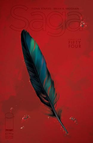 Saga #54 (2nd Printing)