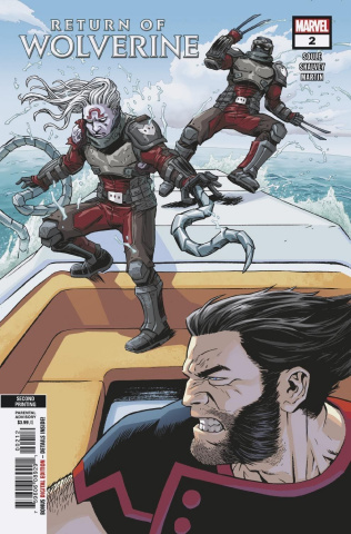 Return of Wolverine #2 (Shalvey 2nd Printing)