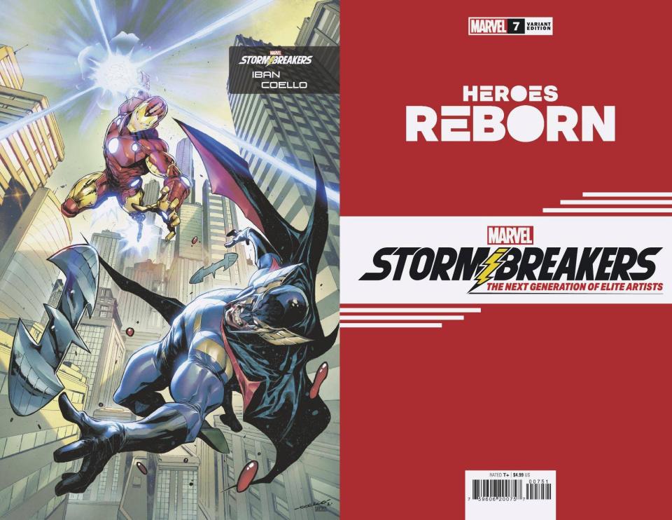 Heroes Reborn #7 (Coello Stormbreakers Cover)