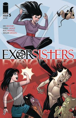 Exorsisters #5 (Lagace & Pantazis Cover)