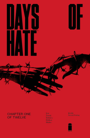Days of Hate #1 (2nd Printing)