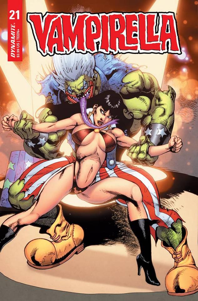 Vampirella #21 (Premium Castro Cover)