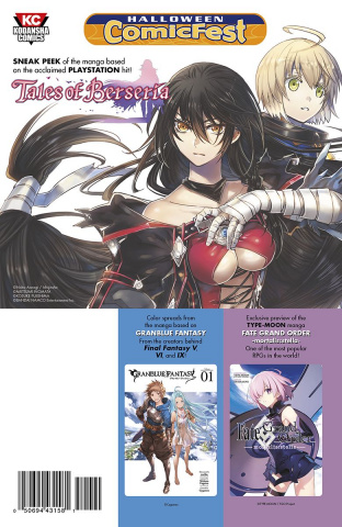 Tales Of Berseria & Other Game Manga (Halloween Comic Fest)