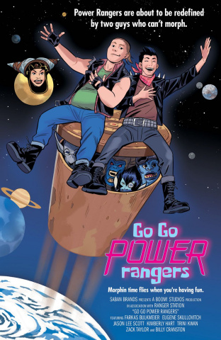 Go, Go, Power Rangers! #9 (25 Copy Bustos Cover)