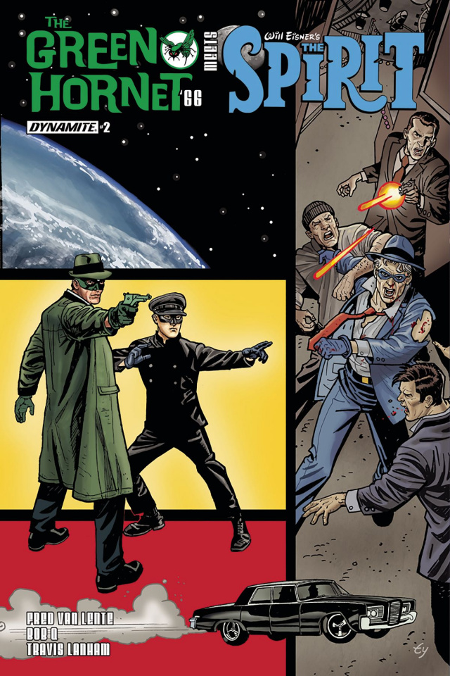 The Green Hornet '66 Meets The Spirit #2 (Templeton Cover)