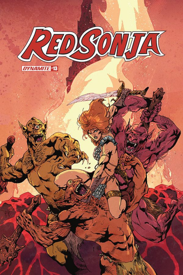 Red Sonja #13 (Castro Bonus Cover)