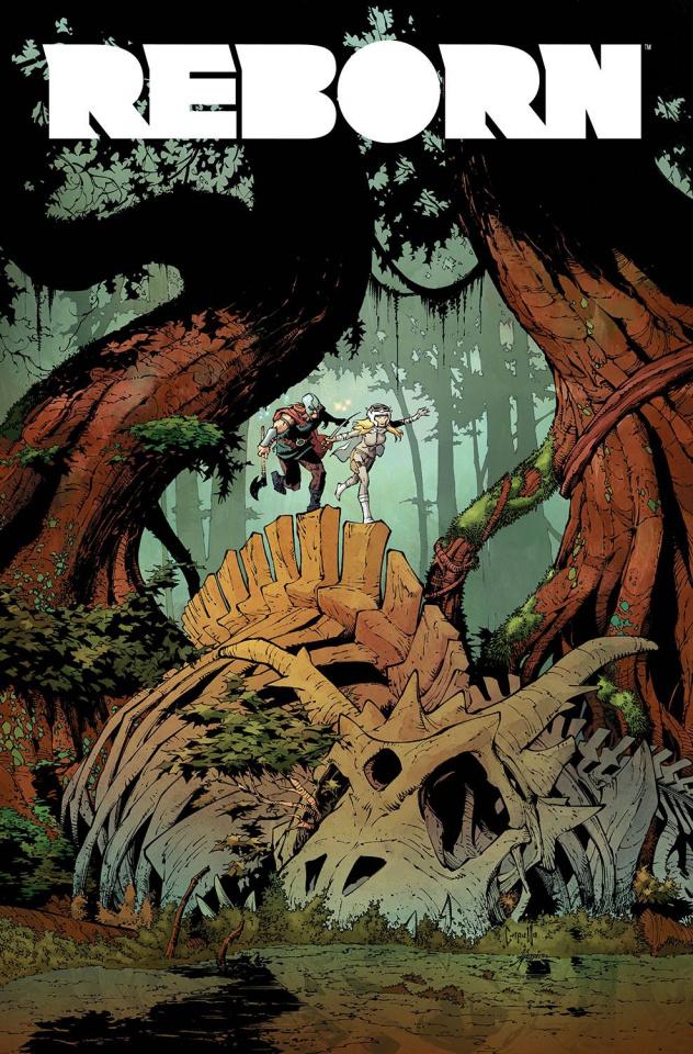 Reborn #5 (Capullo Cover)