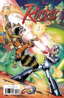 Rocket #4 (Nauck Marvel vs. Capcom Cover)