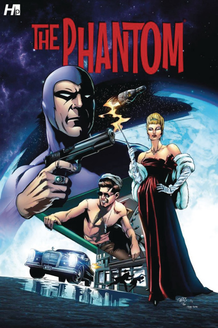The Phantom: President Kennedy's Mission #1 (Brooks Cover)