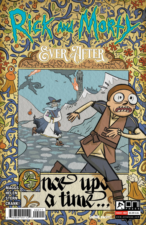Rick and Morty: Ever After #2 (Helen Cover)