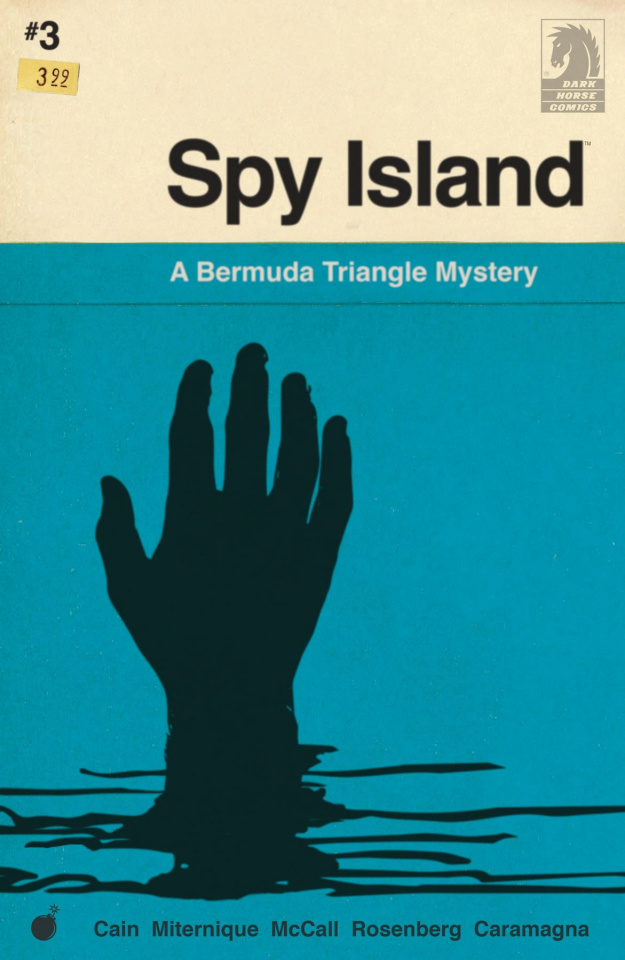 Spy Island #3 (Miternique Cover)