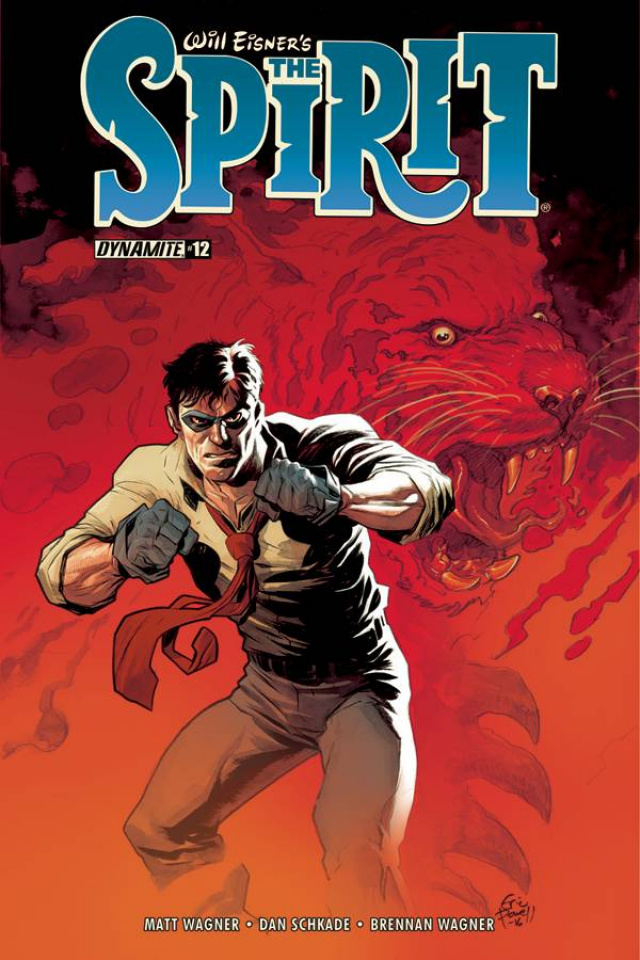 The Spirit #12 (Powell Cover)