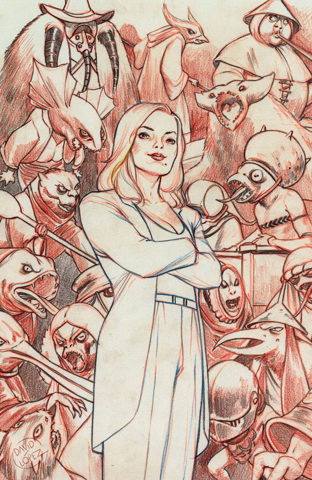 Buffy the Vampire Slayer #21 (25 Copy Lopez Cover)