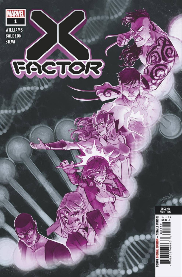 X-Factor #1 (Shavrin 2nd Printing)