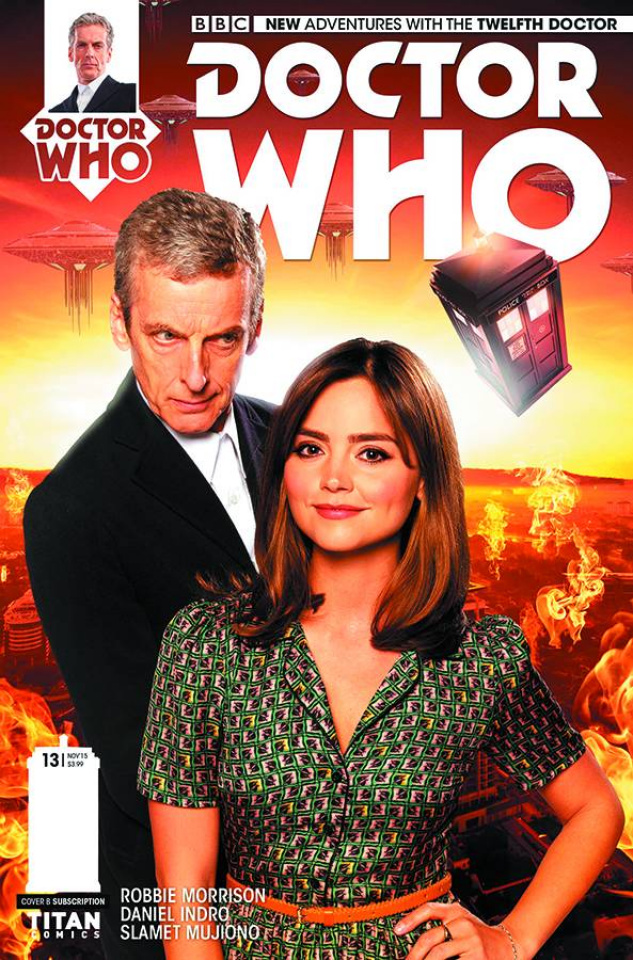 Doctor Who: New Adventures with the Twelfth Doctor #13 (Subscription Photo Cover)