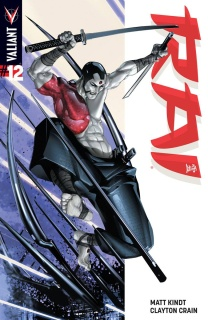 Rai #12 (Interlocking Crain Cover)
