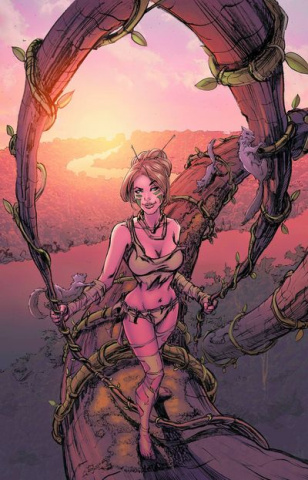 Grimm Fairy Tales: The Jungle Book #4 (Patterson Cover)