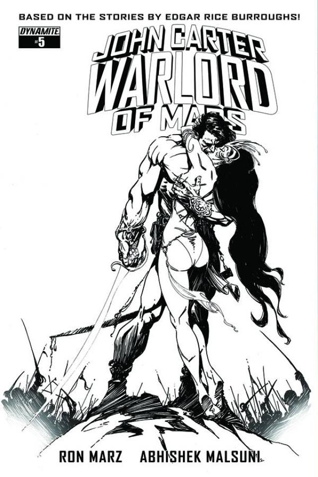 John Carter: Warlord of Mars #5 (10 Copy Sears B&W Cover)