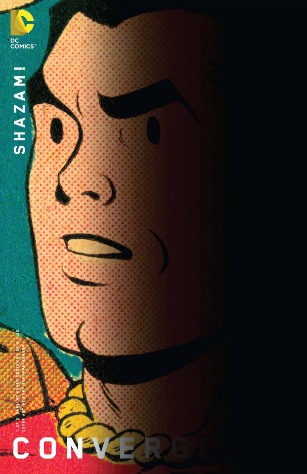 Convergence: Shazam! #1 (Chip Kidd Cover)
