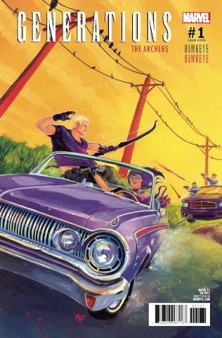Generations: Hawkeye & Hawkeye #1 (Hetrick Cover)