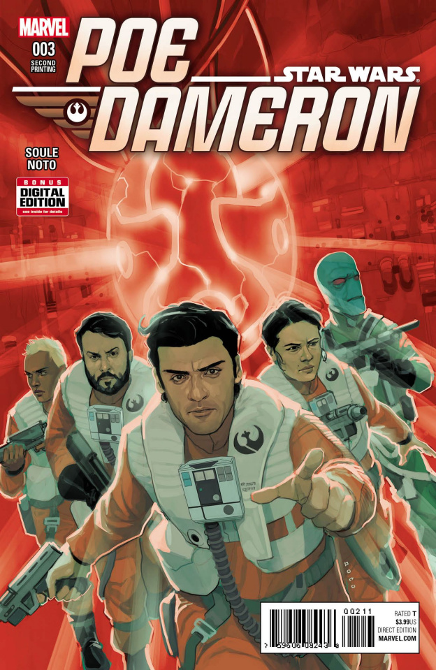 Star Wars: Poe Dameron #3 (Noto 2nd Printing)