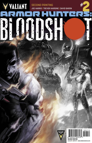 Armor Hunters: Bloodshot #2 (2nd Printing)