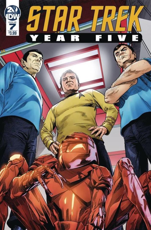 Star Trek: Year Five #7 (Thompson Cover)