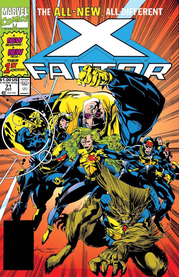 X-Factor: Mutant Genesis #1 (True Believers)
