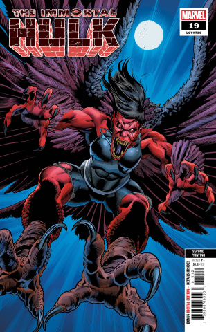 The Immortal Hulk #19 (Bennett 2nd Printing)