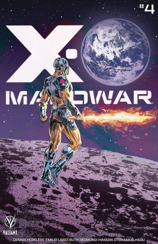 X-O Manowar #4 (25 Copy Walsh Cover)