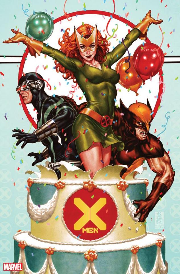 X-Men #1 (Brooks Party Cover)