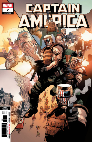 Captain America #2 (Yu 3rd Printing)