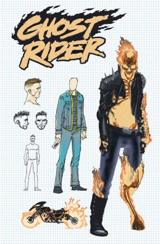 Ghost Rider #1 (Kuder Design Cover)