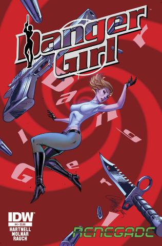 Danger Girl: Renegade #4