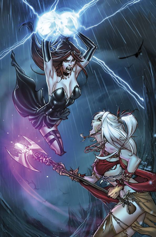 Grimm Fairy Tales: The Coven #5 (Valentino Cover)