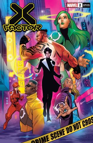 X-Factor #2 (Medina Cover)