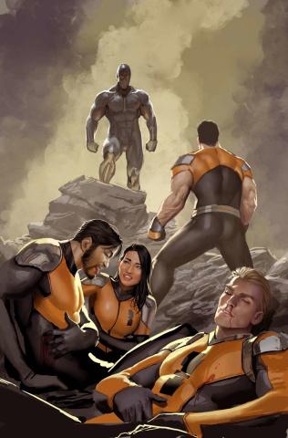 Catalyst Prime: Seven Days #4 (Sejic Virgin Cover)