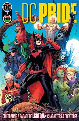 DC Pride #1 (Jim Lee Scott Williams Tamra Bonvillain Cover)