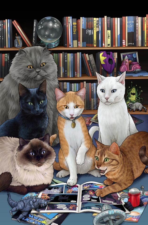 Hero Cats Vol. 5: New Visions