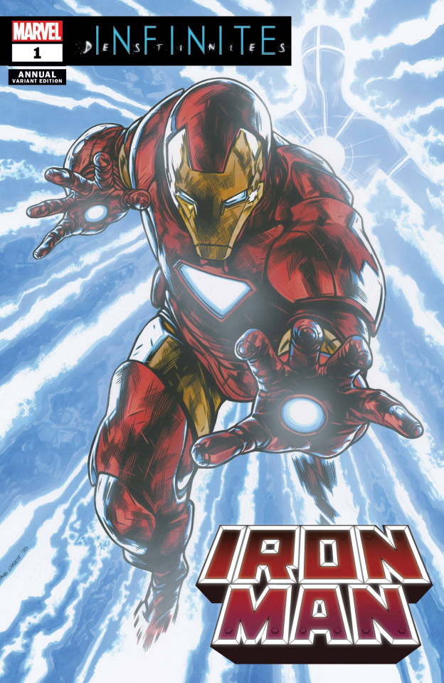 Iron Man Annual #1 (Charest Cover)