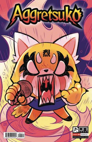 Aggretsuko #4 (Patabot Cover)