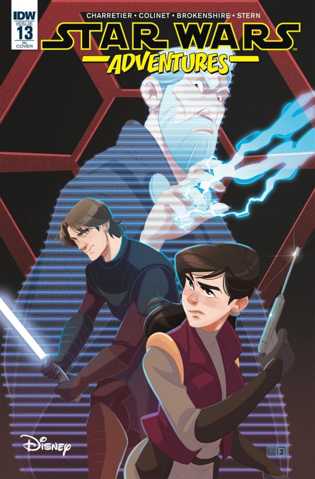 Star Wars Adventures #13 (10 Copy Florean Cover)