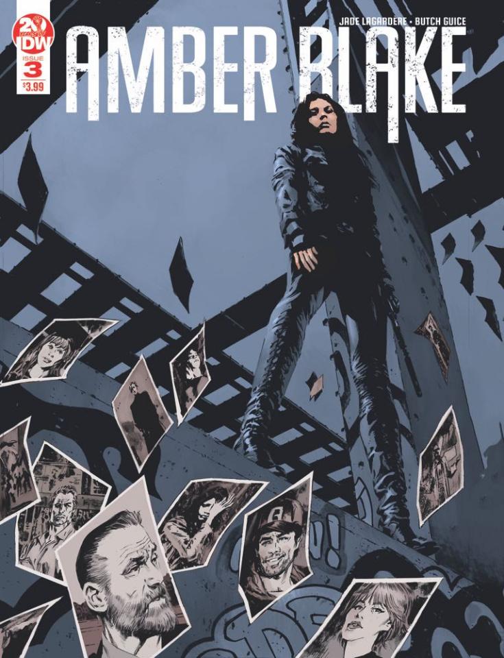 Amber Blake #3 (2nd Printing)