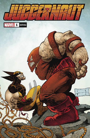 Juggernaut #1 (Keith Signed Cover)