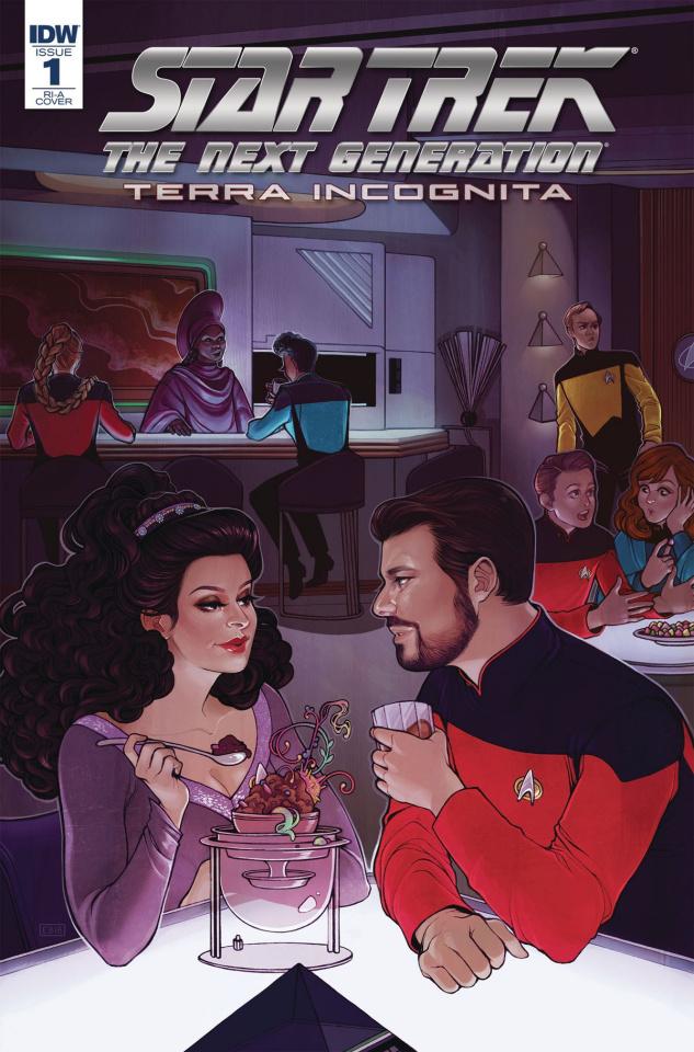 Star Trek: The Next Generation - Terra Incognita #1 (10 Copy Beals Cover)