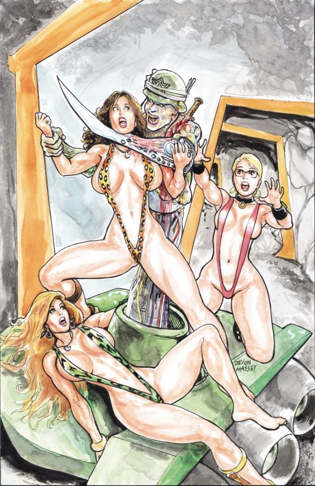 Cavewoman: Return to the Labyrinth #2 (Devon Massey Cover)