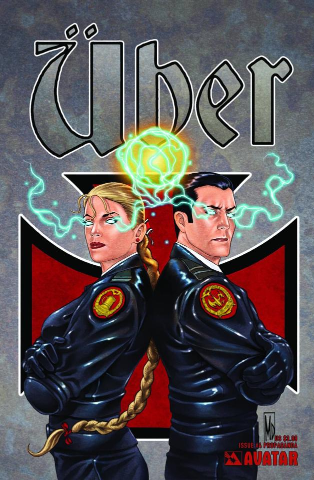 Über #4 (Propaganda Poster Cover)